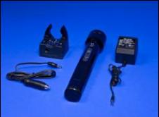 Passive Alcohol Sensor Flashlight Charger